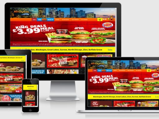 Website for Multiple Restaurants to Showcase their Hot Deals and Order Food Online
