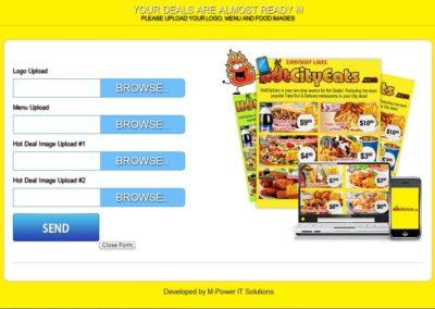 Web based Sales Rep Module Development for Restaurant Business