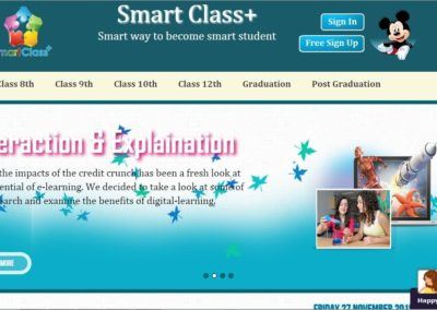 Web-based Application for Smart Class