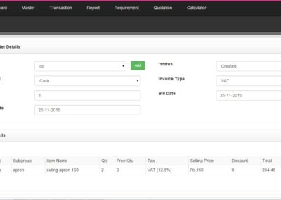 Web based CRM development