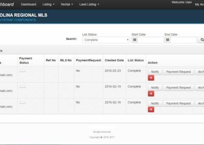 Web based Client Management System for Real Estate Listing Business