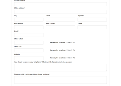 Web based Customer Information application System