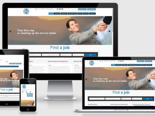 Website Design and Development for Recruiting Company