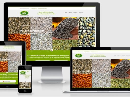 Website Design and Development for Agricultural Business Company