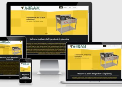 Website Design and Development for Refrigeration and Engineering Company