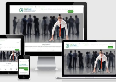 Website Design and Development for Recruiting and Consulting Business