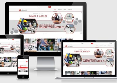 Website Re-designed for manufacturer of business and consumer facing technology accessories