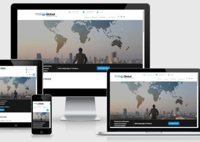 Website Re-design and development for IT services company in US