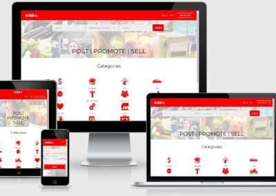 Classified Products/Services Business Listing Marketplace Website Development